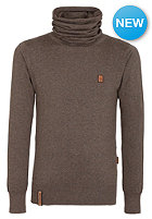 NAKETANO Galant III Knit Sweat brown melange