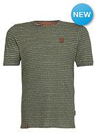 NAKETANO Hosenpuper IV S/S T-Shirt best green melange