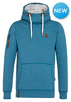 NAKETANO L�mmelget�mmel II Hooded Sweat deep blue green melange