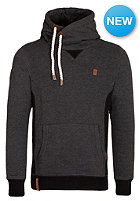 NAKETANO Pommes im Weltall IV Hooded Sweat anthracite melange