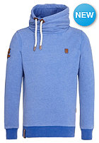 NAKETANO Wealth Of Nations Hooded Sweat heritage lecker blau melange