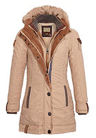 NAKETANO Womens A Woman Will Rise Up Jacket sand