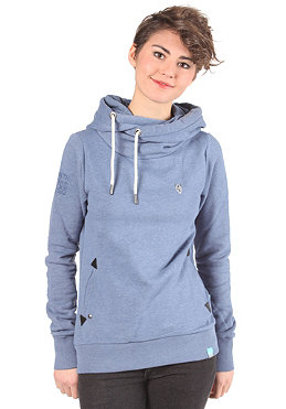 NAKETANO Womens Darth Hooded Sweat blue melange
