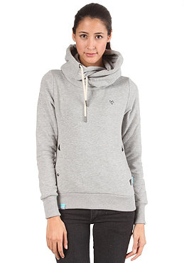 NAKETANO Womens Darth Hooded Sweat grey melange