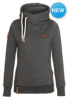 NAKETANO Womens Darth IV Hooded Sweat anthracite melange