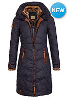 NAKETANO Womens Entertain My Pain Coat dark blue