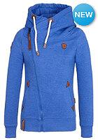 NAKETANO Womens Family Biz II Hooded Zip Sweat lecker blau melange