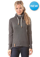 NAKETANO Womens Geh Weg II Knit Sweat dark grey melange