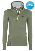 NAKETANO Womens Geh Weg II Knit Sweat desert green melange