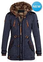 NAKETANO Womens Haubitze II Coat dark blue