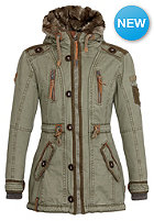 NAKETANO Womens Haubitze II Jacket desert green