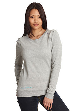NAKETANO Womens Isabell L/S Shirt grey melange
