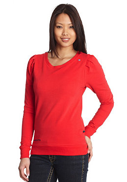NAKETANO Womens Isabell L/S Shirt red
