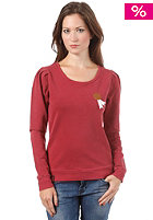NAKETANO Womens Isabell Who Sweatshirt heritage dark red