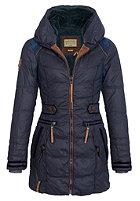 NAKETANO Womens Knastrologin Coat dark blue