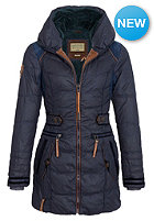 NAKETANO Womens Knastrologin Coat dark blue