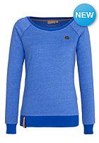 NAKETANO Womens Krokettenhorst II Sweat lecker blau melange
