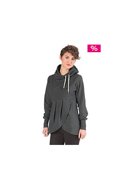 NAKETANO Womens Lorenzo Hooded Sweat anthracite melange