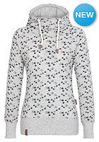 NAKETANO Womens Mandy Will V�gel(n) III Hooded Sweat grey melange
