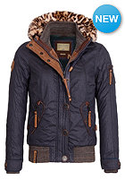 NAKETANO Womens Simon Bolivar Jacket dark blue
