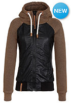 NAKETANO Womens Streets Is Watching Jacket black