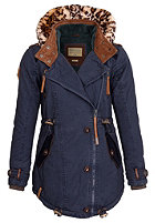 NAKETANO Womens Takeover III Coat dark blue