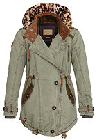 NAKETANO Womens Takeover III Coat desert green