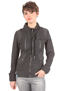 NAKETANO Womens The Force Zip Sweat anthracite melange