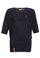 NAKETANO Womens Vergissmeinnicht Knit Sweat dark blue melange