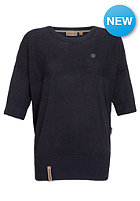 NAKETANO Womens Vergissmeinnicht Knit Sweat dark blue melange