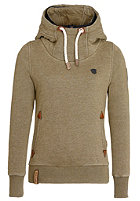 NAKETANO Womens Wemser II Hooded Sweat heritage olive melange