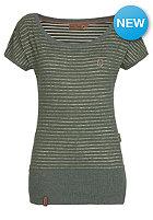 NAKETANO Womens Wolle Dizzy III S/S T-Shirt best green melange