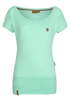 NAKETANO Womens Wolle V S/S T-Shirt peppermint melange