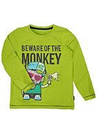 NAME IT Kids Diego Top Box Longsleeve lime green