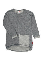 NAME IT Kids Okalaila LS SW Tunic 613 Dress dark grey melange
