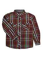 NAME IT Kids Okke 613 L/S Shirt burgundy