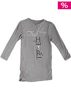NAME IT Kids Petwist 613 Tunic L/S Dress dark grey melange