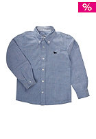 NAME IT Kids Poxford 613 L/S Shirt chambray