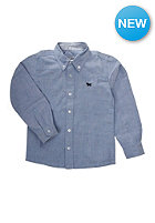 NAME IT Kids Poxford 613 L/S T-Shirt chambray