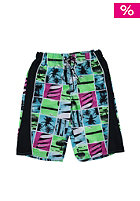 NAME IT Kids Zambrotta Boardshort green gecko