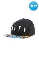 NEFF Aoki Staple Snapback Cap black