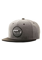 NEFF Average Snapback Cap grey/black