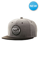 NEFF Average Snapback Cap grey/black