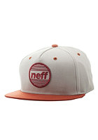 NEFF Average Snapback Cap khaki/orange