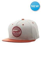NEFF Average Snapback Cap khaki/orange