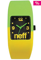 NEFF Bandit Watch lemon lime