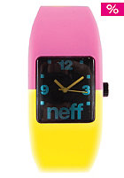NEFF Bandit Watch pink yellow
