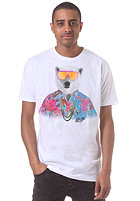 NEFF Bear Five-O S/S T-Shirt white