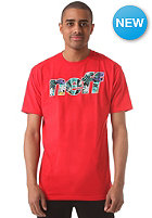 NEFF Corpi Filled S/S T-Shirt red