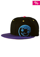 NEFF Corpo Cap black purple cyan